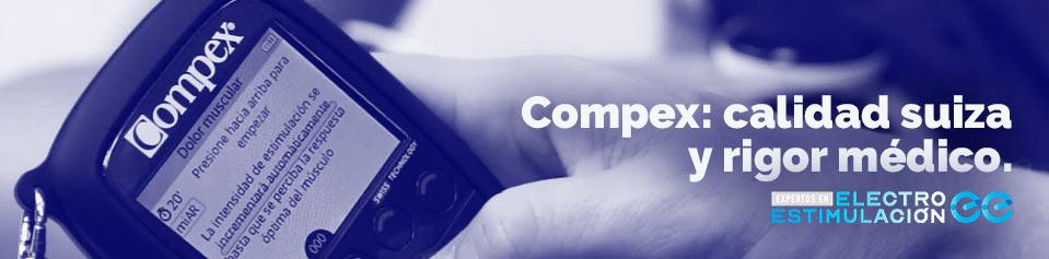 Compex, líder en electroestimulación